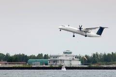 Toronto, aéroport de ville Photographie stock