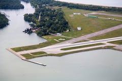 Toronto, aéroport de ville Images libres de droits