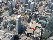 Toronto from above. Toronto city view Stock Photo