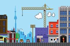 Toronto ad otto bit Fotografia Stock