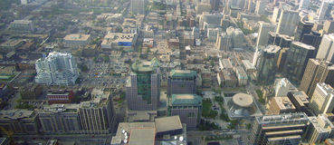 Toronto by the air Stock Photography