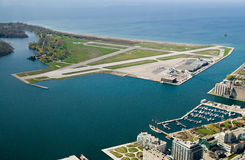 Toronto airport royalty free stock images