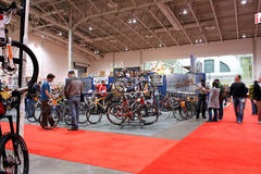 Toronto Annual Bicycle Show Royalty Free Stock Photography