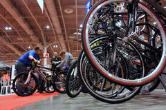 Toronto Annual Bicycle Show Royalty Free Stock Image