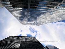 Toronto& x27; arranha-céus de s Foto de Stock Royalty Free