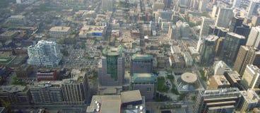 Toronto auf dem Luftweg Stockfotografie