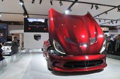 Toronto Auto show 2013 Stock Photography