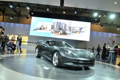 Toronto Auto show 2013 Arkivfoto