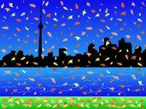 Toronto in autumn Stock Photography