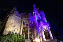 Toronto berömd Casa Loma Castle Royaltyfri Bild