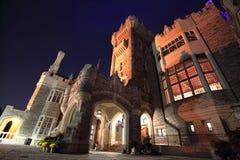 Toronto berömd Casa Loma Castle Arkivbild