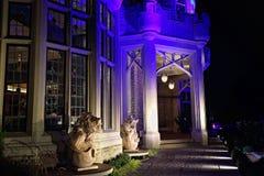 Toronto berömd Casa Loma Castle Arkivfoton