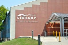 Toronto biblioteka publiczna zdjęcia stock