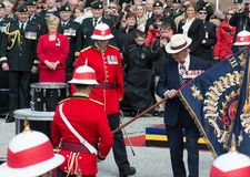 Toronto Bicentennial Commemoration of the Battle of York Royalty Free Stock Image