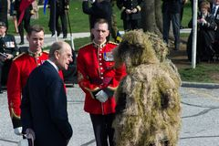 Toronto Bicentennial Commemoration of the Battle of York Royalty Free Stock Images