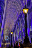 Toronto Brookfield Place Christmas Lights Royalty Free Stock Image