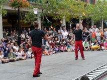 Toronto Buskerfest, August 2011 Royalty Free Stock Image