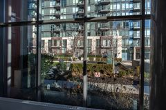 """Toronto, Canadá †do """"arranha-céus altos do apartamento 4 de dezembro de 2018 fotografia de stock"""
