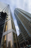 Toronto, Canadá - 27 de enero de 2016: Rascacielos en Toronto céntrico, distrito financiero Imagenes de archivo