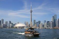 Toronto, Canadá, o Lago Ontário imagem de stock