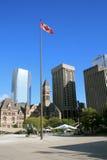 Toronto, Canadá - quadrado de Nathan a Philips fotos de stock royalty free