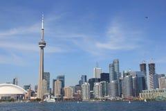 Toronto, Canadá, horizonte Foto de archivo libre de regalías