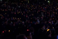 Free Toronto, Canada. 29th October: Toronto Jewish Community Vigil For Victims Of Pittsburgh Synagogue Massacre At Mel Lastman Square Stock Image - 158610541