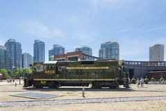 Toronto railway museum Royalty Free Stock Photo