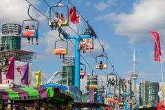 TORONTO, CANADA - AUGUSTUS 17, 2014, Communautaire gebeurtenis bij Ex, Ca royalty-vrije stock afbeeldingen