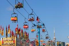 TORONTO, CANADA - AUGUSTUS 17, 2014, Communautaire gebeurtenis bij Ex, Ca royalty-vrije stock fotografie
