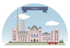 Toronto, Canada. Toronto. City in Canada and the provincial capital of Ontario Stock Image