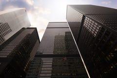 Toronto, Canada - 30 gennaio 2016: Grattacieli a Toro del centro fotografia stock libera da diritti