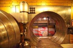 Toronto, Canada 6 juin 2017 : La chambre forte, un exhi célèbre de coffre-fort de banque photographie stock