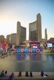 TORONTO, CANADA-JULY 9,2015: Nuevo Toronto firma adentro a Nathan Phill Imágenes de archivo libres de regalías