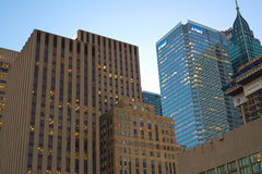 TORONTO,CANADA-JULY 9,2015: A view of  downtown toronto, the thi Stock Image