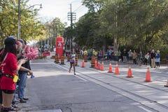TORONTO, ON/CANADA - OCT 22, 2017: Etiopski maratonu biegacz Sut Zdjęcie Royalty Free