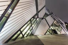 The Royal Ontario Museum in Toronto Royalty Free Stock Photo