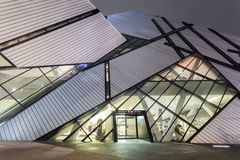 The Royal Ontario Museum in Toronto Stock Photography
