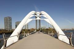 Pedestrian Bridge in Toronto Stock Photo