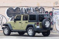 Jeep Wrangler Sport Stock Photo