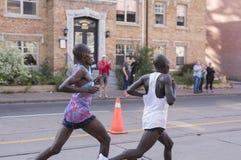TORONTO, ON/CANADA - OCT 22, 2017: Keniaanse marathonagenten Phile Stock Foto's