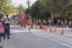 TORONTO, ON/CANADA - OCT 22, 2017: Maratoński biegacz Jean Pierre Zdjęcia Stock