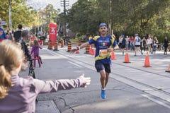 TORONTO, ON/CANADA - OCT 22, 2017: Maratoński biegacz Jose Carlos p Fotografia Royalty Free