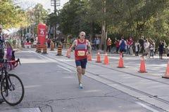 TORONTO, ON/CANADA - OCT 22, 2017: Maratońskiego biegacza Edward passin Zdjęcie Royalty Free