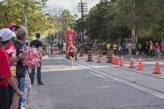TORONTO, ON/CANADA - OCT 22, 2017: Maratońskiego biegacza Robert passin Fotografia Royalty Free