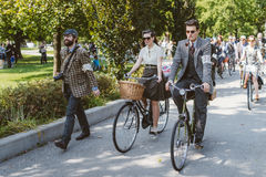 Toronto, Canada - September 20, 2014: Tweed Ride Royalty Free Stock Image