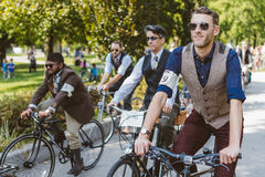 Toronto, Canada - September 20, 2014: Tweed Ride Stock Photo