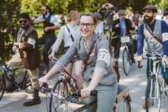 Toronto, Canada - September 20, 2014: Tweed Ride Stock Photography