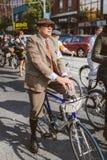 Toronto, Canada - September 20, 2014: Tweed Ride Stock Images