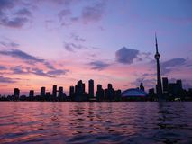 Toronto, Canada at sunset Stock Photo